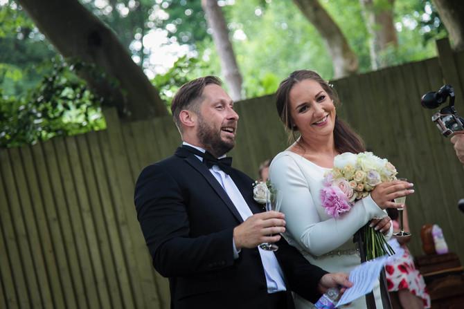 Congratulations Aaron & Louise!