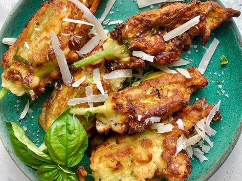 Fried Zucchini Blossoms
