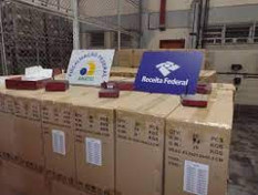Operação conjunta da Receita Federal e da Anatel resulta na apreensão de mais de 16 mil ...
