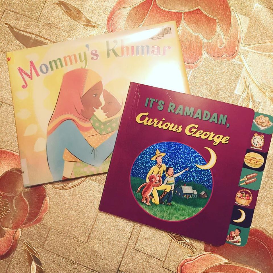 Mommy's Khimar and It's Ramadan Curious George