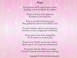 Muslim rhymes by Fahima Sharmin