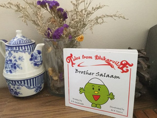 "Say Salam to ""Brother Salaam""! (Must have books for little Muslims)"