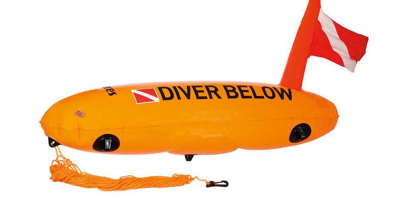 Mares Surface Marker Buoy Standard Torpedo