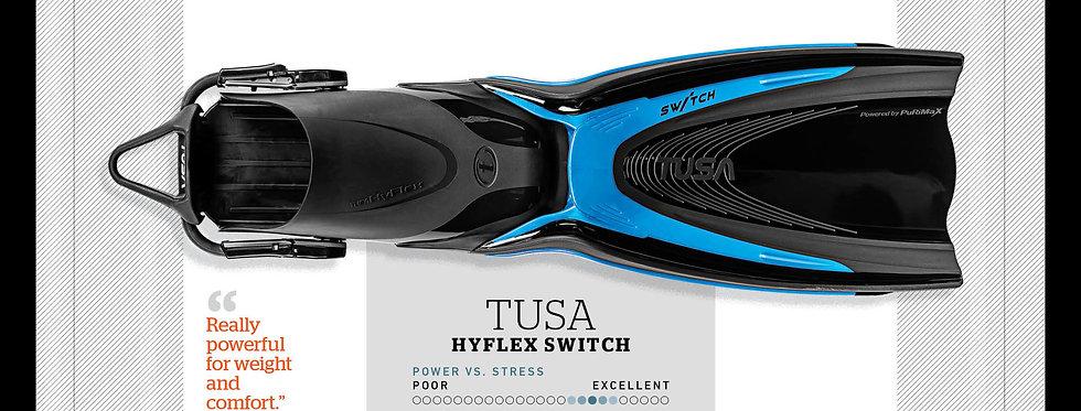 TUSA Hyflex Switch Fin. Size - Large / Extra Large