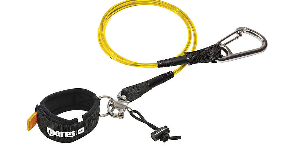 Mares Free Diving Lanyard With Snap Release