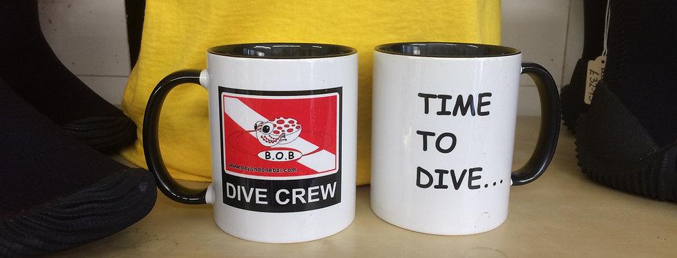 Beyond One Bar 'Dive Crew' Mug