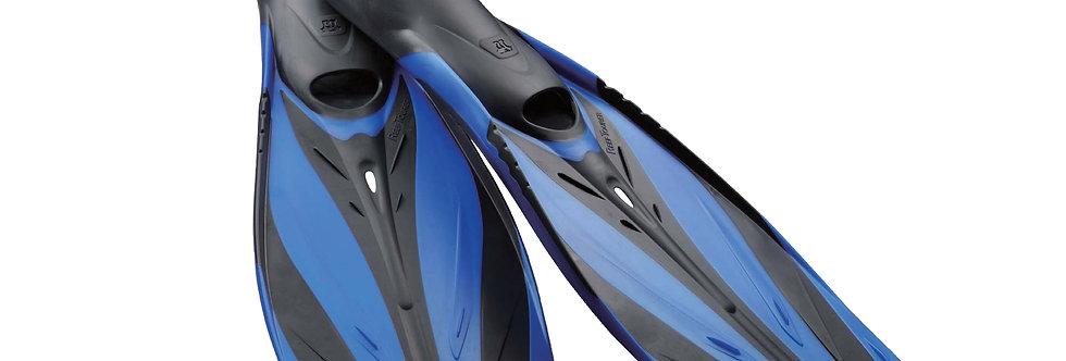 Platina Reef Tourer Full Foot Fins Blue