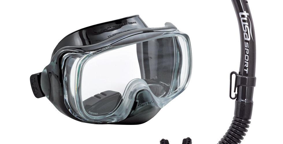 TUSA Imprex 3D Dry Mask & Snorkel Set - Adult