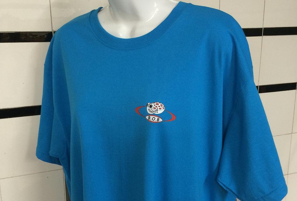 Beyond One Bar Tee Shirt in Light Blue
