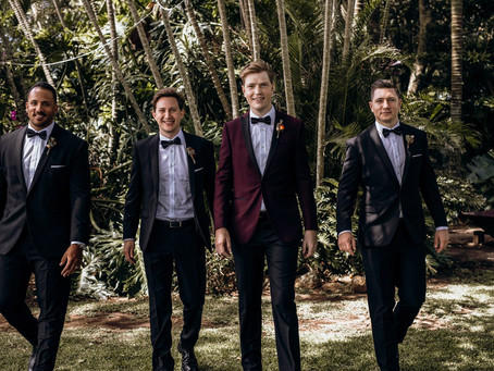 Guest Blog // Dressing the Groom and Groomsmen