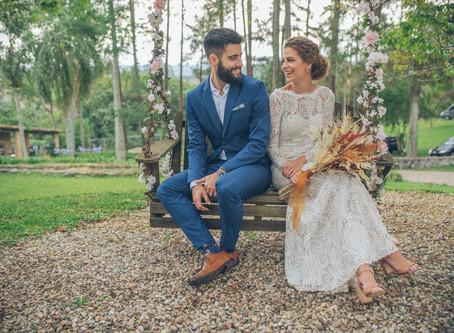 Real Wedding || Bruna + Caio
