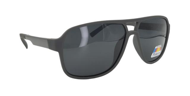 Óculos de sol modelo Aviador Cinza c/ preto