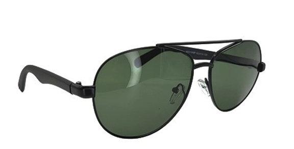Óculos de sol modelo Aviador grafite c/ preto
