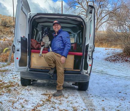In our new adventure van