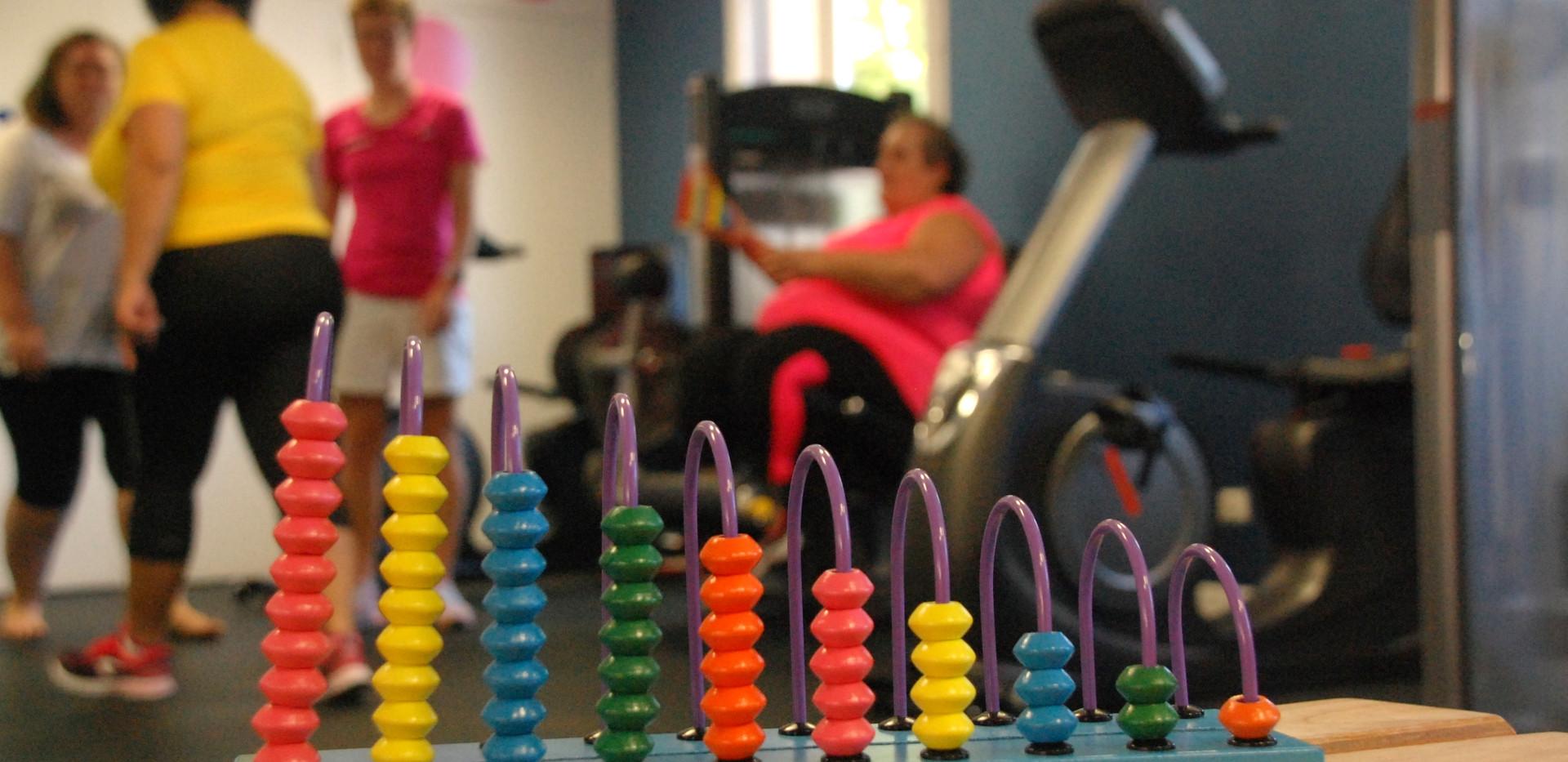 Espace renforcement musculaire.