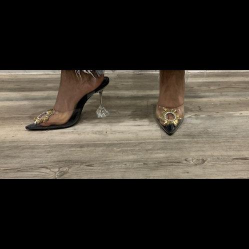 Glass Slipper Heels