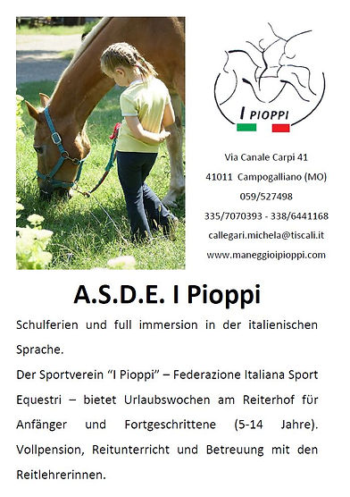 Campo estivo - I Pioppi