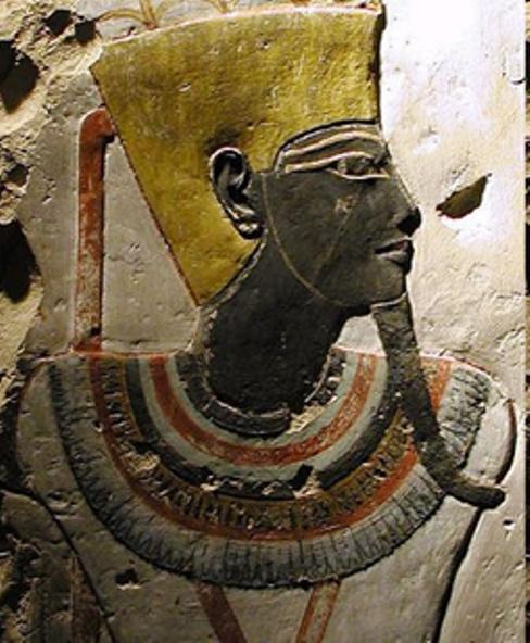 Egypte_Amon en noir
