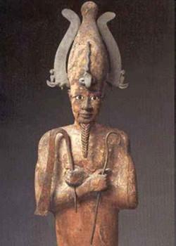 Egypte_Osiris en bois