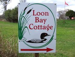 Cottage Rental Directional Sign