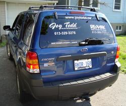 joy todd car window