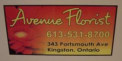 Avenue Florist Magnetic