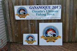 Gananoque fishing town signage