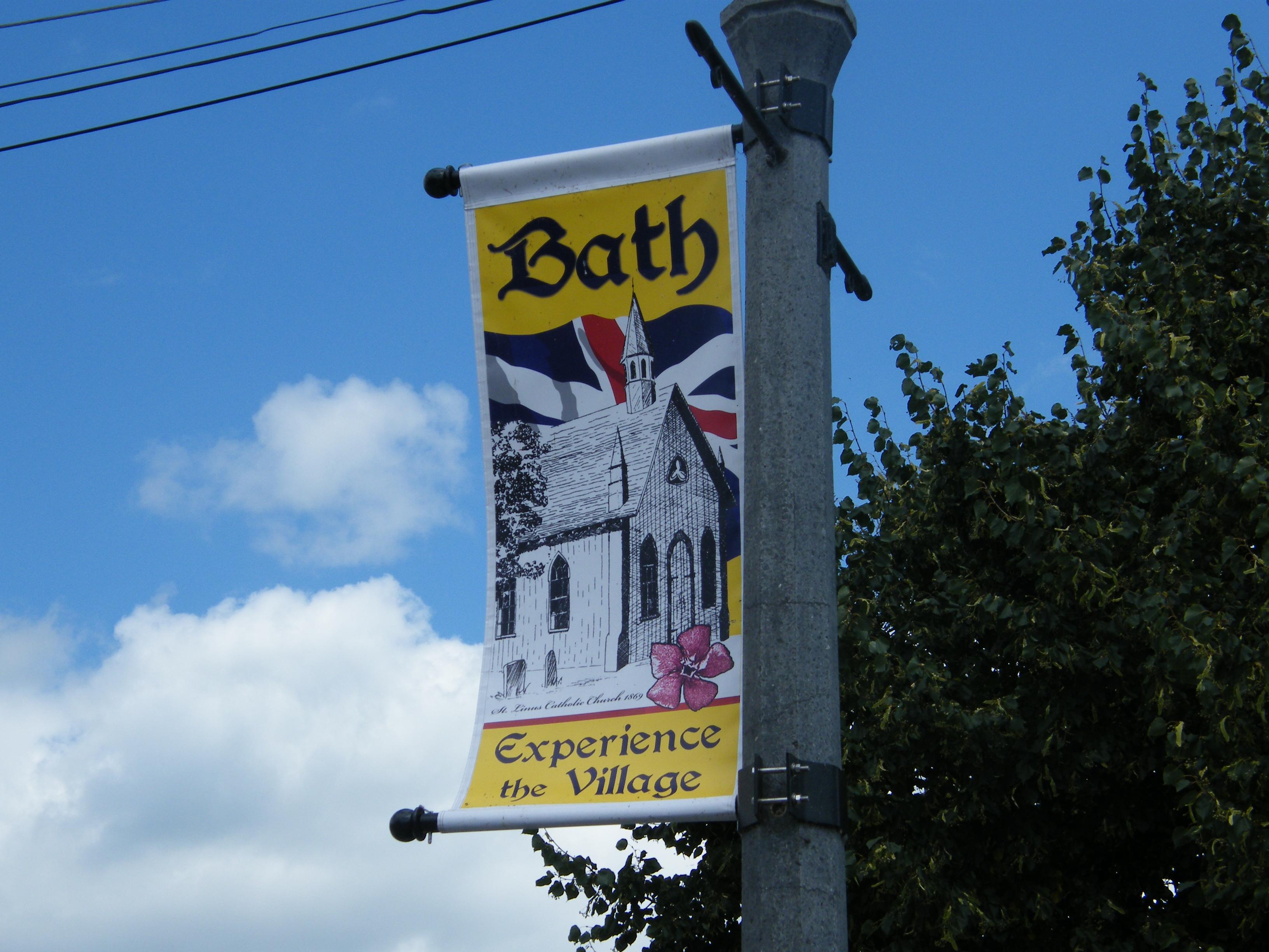 Village of Bath street banners