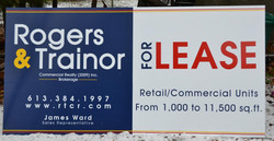 4' x 8' commercial signs