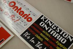 Kingston Stickers