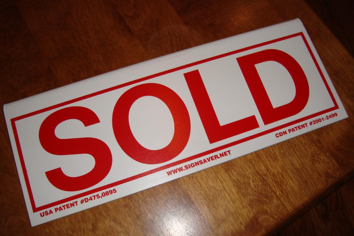 SOLD rider slips over 6mm signs
