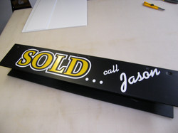 Post slip on Sold Rider
