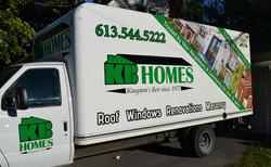 KB Homes Vehicle Billboard Graphics