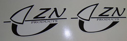 ZN line sticker