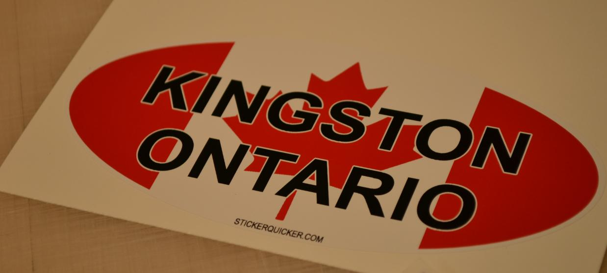 Kingston Sticker