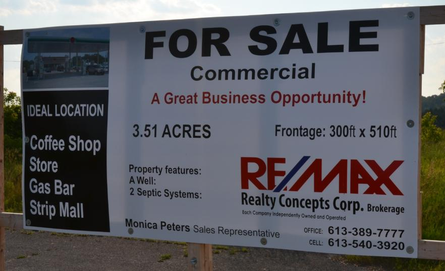 4x8 Commercial sign