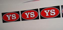 YS sticker