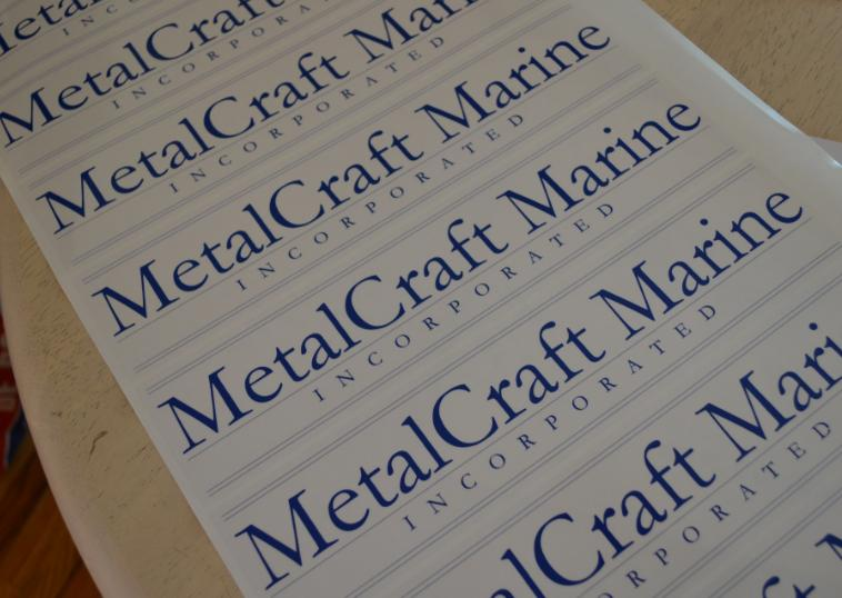 metalcraft sticker