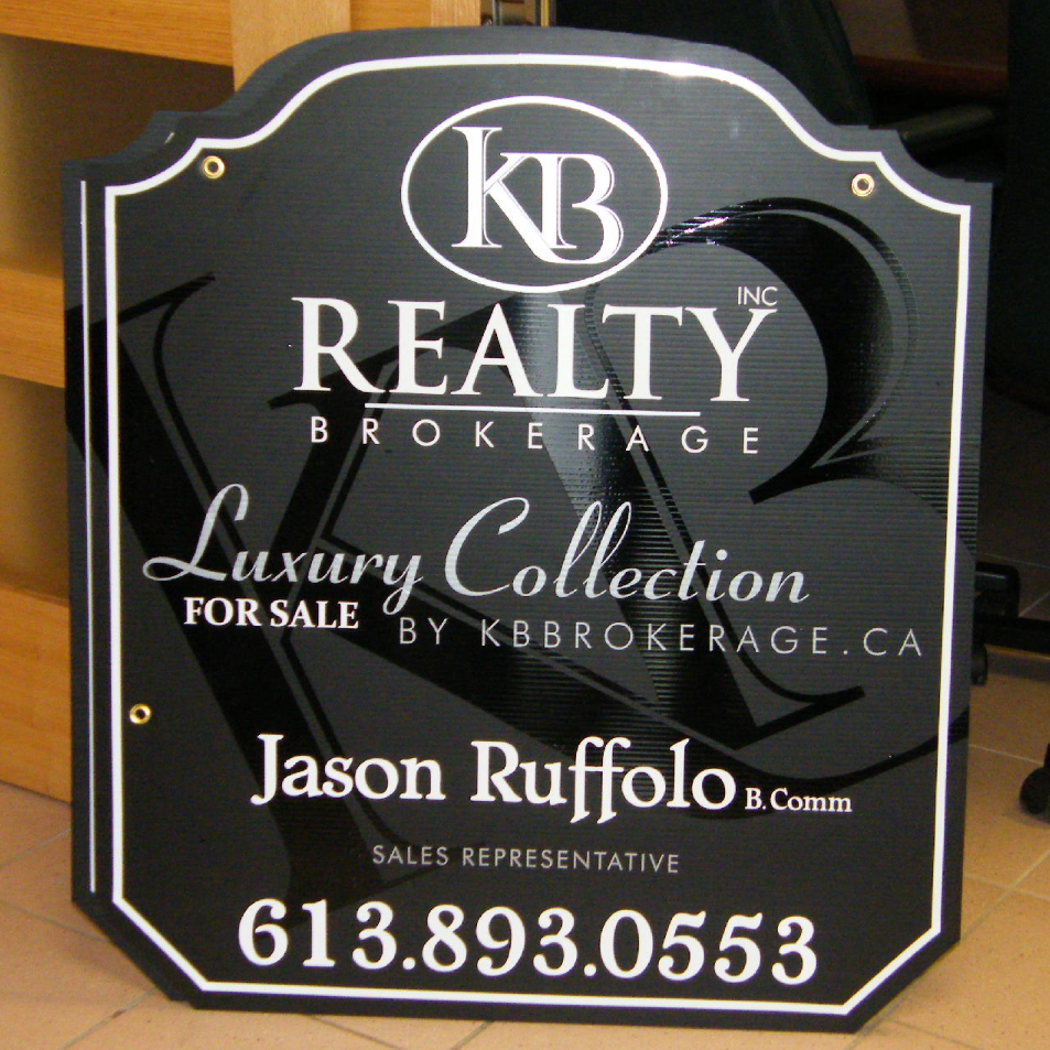 KB Realty Luxury Collection sign