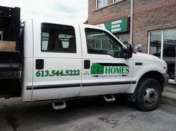 KB homes Truck