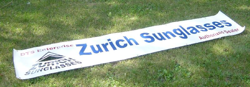 Zurich Sunglasses banner