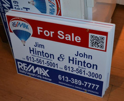 QR Code For Sale sign