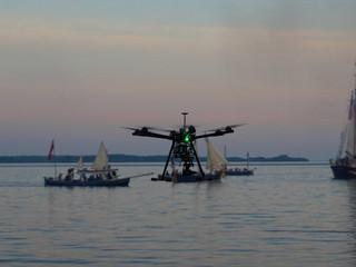UAV/ Drone? No, flying camera.