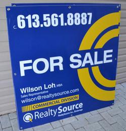Large format For Sale sign
