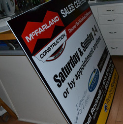 Show Home Large Sign