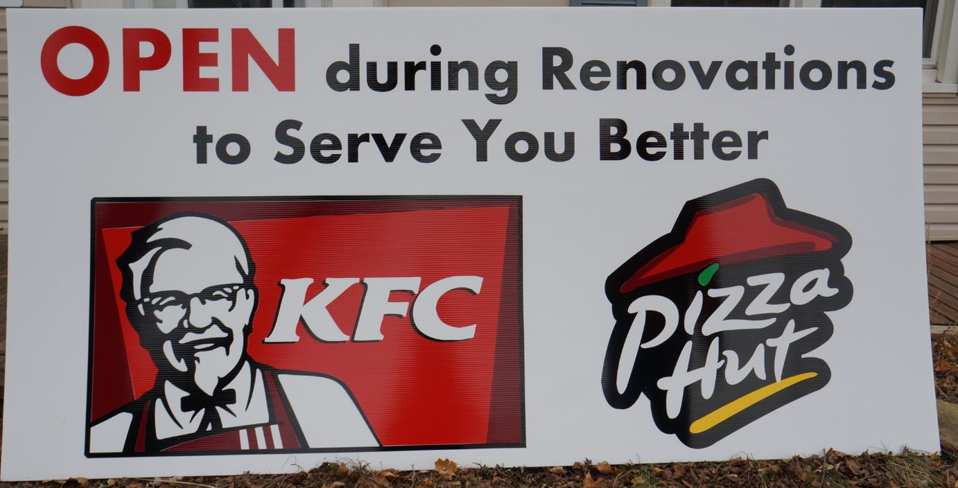KFC and Pizza Hut