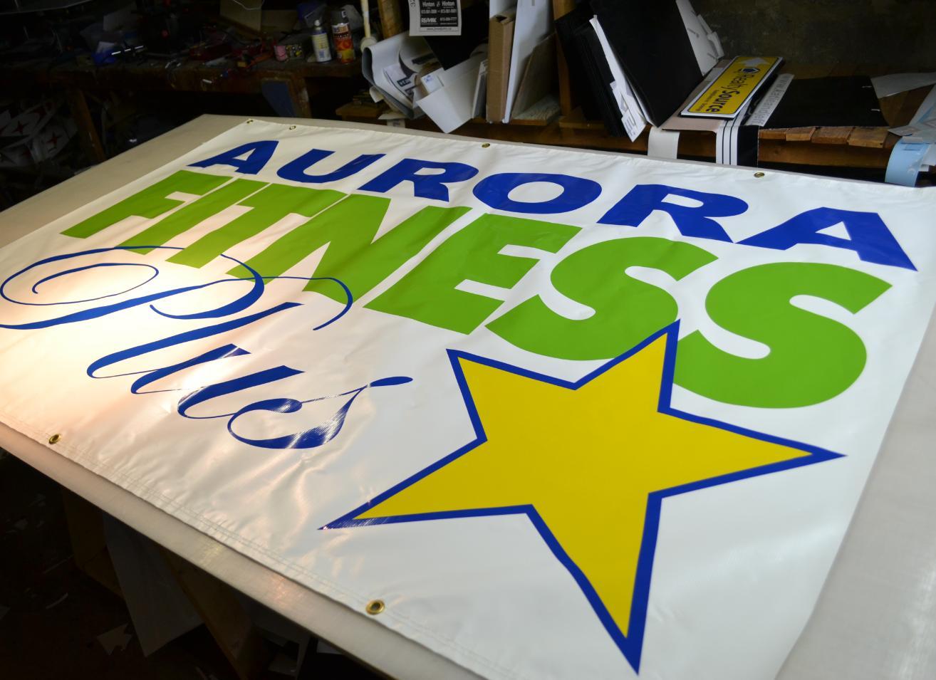 Aurora Fitness banner
