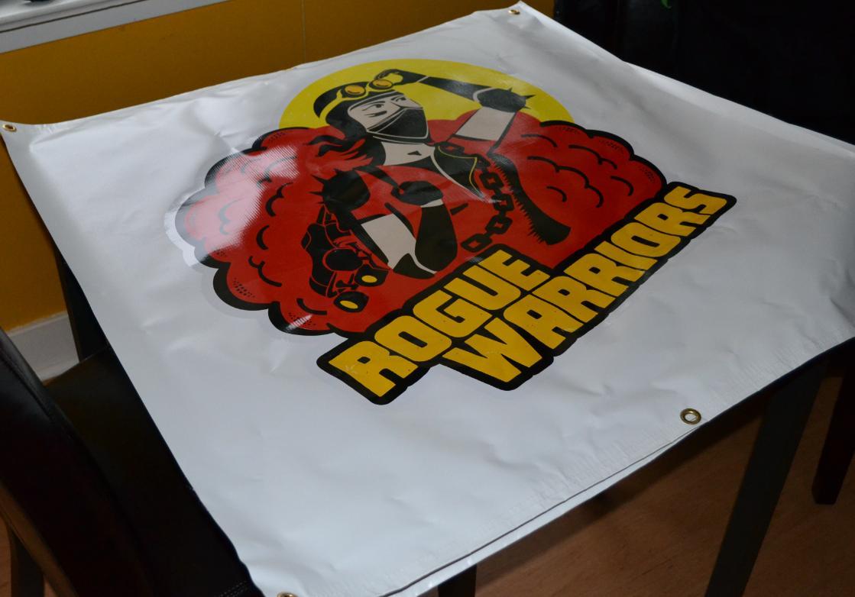 Roller Derby banner