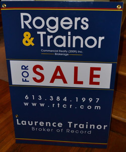 Rogers&Trainer Commercial sign