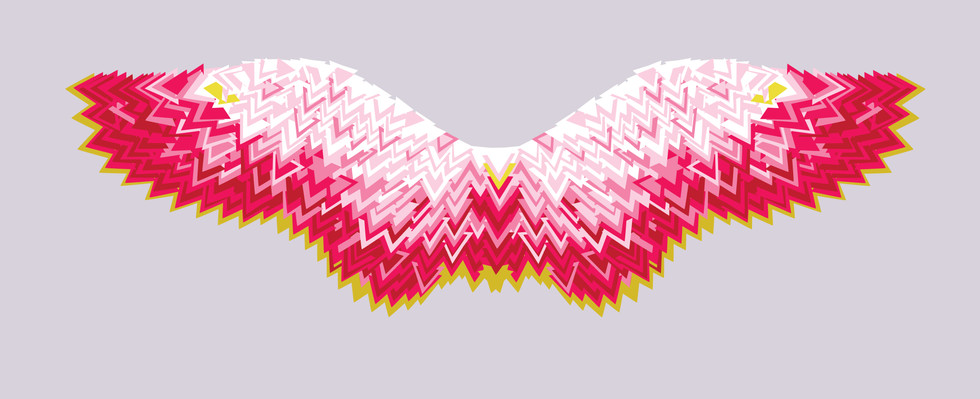 Giclee Print | Triangle Wings